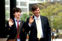 BILL, Logan Lerman, Aaron Eckhart, 2007. ©Blue Sky Media