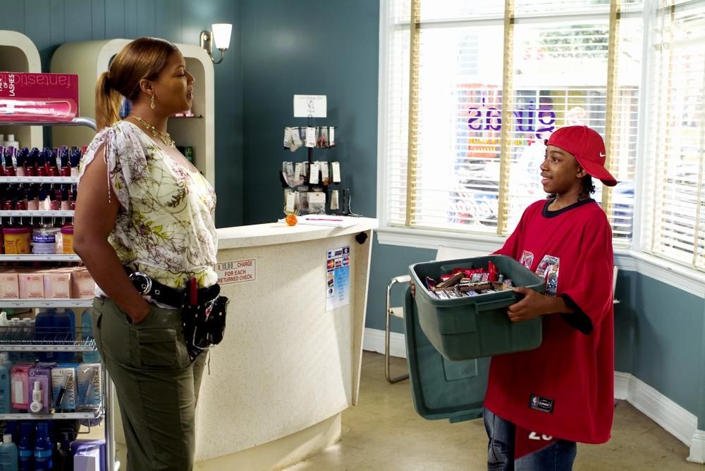 BEAUTY SHOP Queen Latifah Lil JJ 2005 C