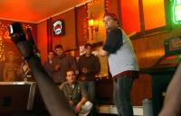 BEER LEAGUE, Jimmy Palumbo (crouching), Artie Lange, 2006, (c) Freestyle Releasing