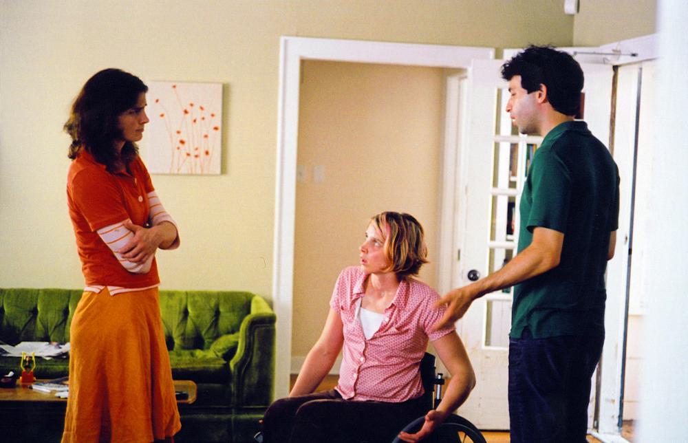 BEESWAX, from left: Maggie Hatcher, Tilly Hatcher, Alex Karpovsky, 2009. ph: Ethan Vogt/©The Cinema Guild