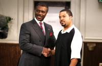 BARBERSHOP 2: BACK IN BUSINESS, Robert Wisdom, Ice Cube, 2004, (c) MGM