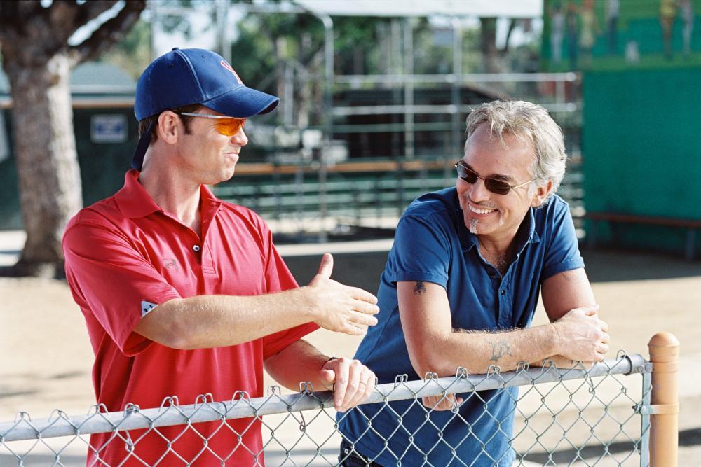 THE BAD NEWS BEARS, Greg Kinnear, Billy Bob Thornton, 2005, (c) Paramount
