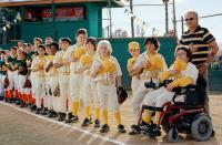 THE BAD NEWS BEARS, Emmanuel Estrada, Carlos Estrada, Kenneth K.C. Harris, Aman Johil, Brandon Craggs, Tyler Patrick Jones, Timmy Deters, Ridge Canipe, Jeffrey Tedmori, Troy Gentile, Billy Bob Thornton, 2005, (c) Paramount