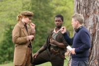 AS YOU LIKE IT, Bryce Dallas Howard, David Oyelowo, director Kenneth Branagh, on set, 2006. ©PictureHouse