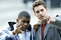 ANOTHER CINDERELLA STORY, from left: Marcus T. Paulk, Drew Seeley, 2008. ©Warner Premiere
