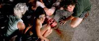 ALL THE BOYS LOVE MANDY LANE, Adam Powell (on ground), Aaron Himelstein (right), 2006. ©Weinstein Company