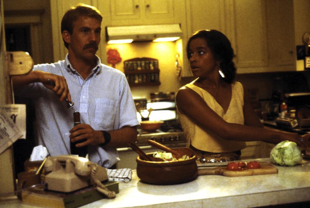 AMERICAN FLYERS, Kevin Costner, Rae Dawn Chong, 1985, (c) Warner Brothers