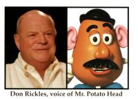 TOY STORY 2, Don Rickles as Mr. Potato Head, 1999