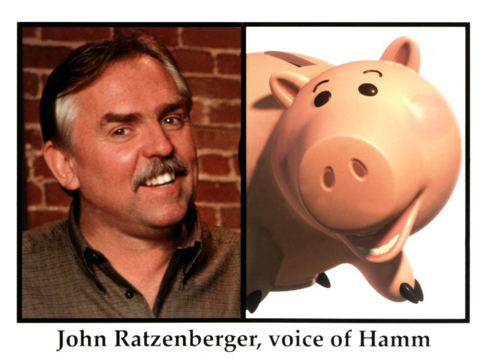 TOY STORY 2, John Ratzenberger as Hamm, 1999