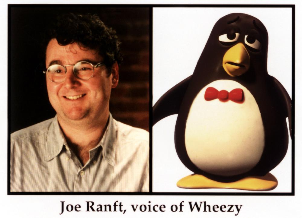 TOY STORY 2, Joe Ranft as Wheezy, 1999
