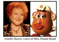 TOY STORY 2, Estelle Harris as Mrs. Potato Head, 1999