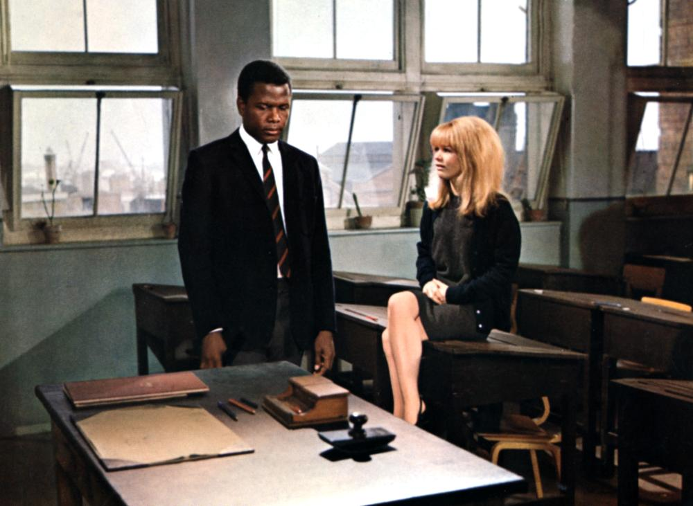TO SIR WITH LOVE, Sidney Poitier, Judy Geeson, 1967