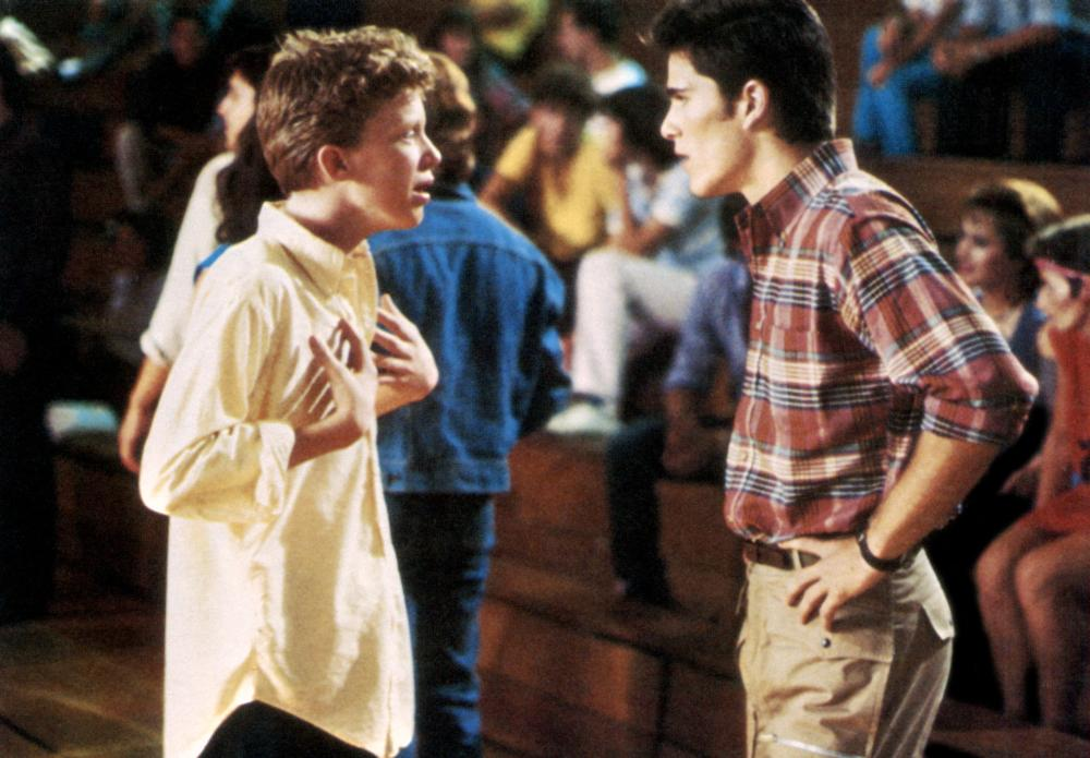 SIXTEEN CANDLES, Anthony Michael Hall, Michael Schoeffling, 1984. ©Universal Pictures