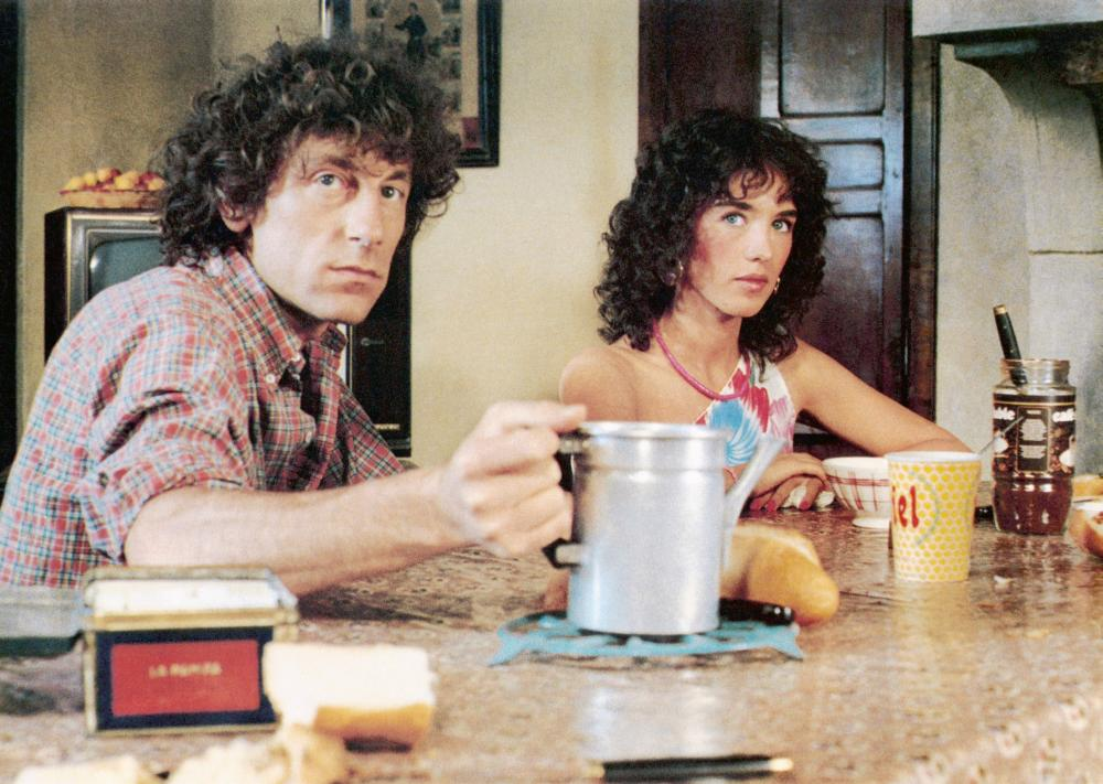 ONE DEADLY SUMMER, (aka L'ETE MEURTRIER), from left: Alain Souchon, Isabelle Adjani, 1983. ©Universal