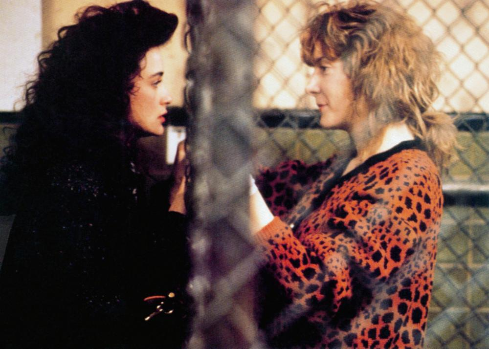 MORTAL THOUGHTS, from left: Demi Moore, Glenne Headly, 1991. ©Columbia Pictures