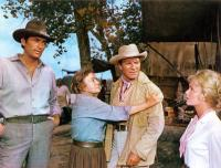HOW THE WEST WAS WON, Gregory Peck, Thelma Ritter, Robert Preston, Debbie Reynolds, 1962