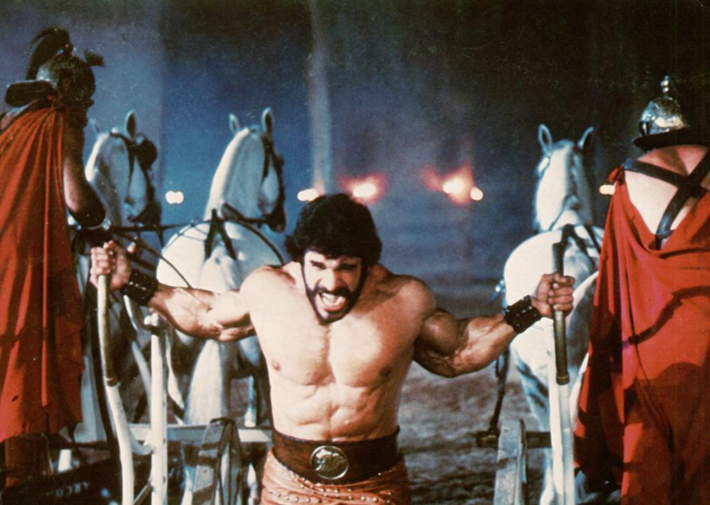 HERCULES, Lou Ferrigno, 1983, (c)Cannon Films