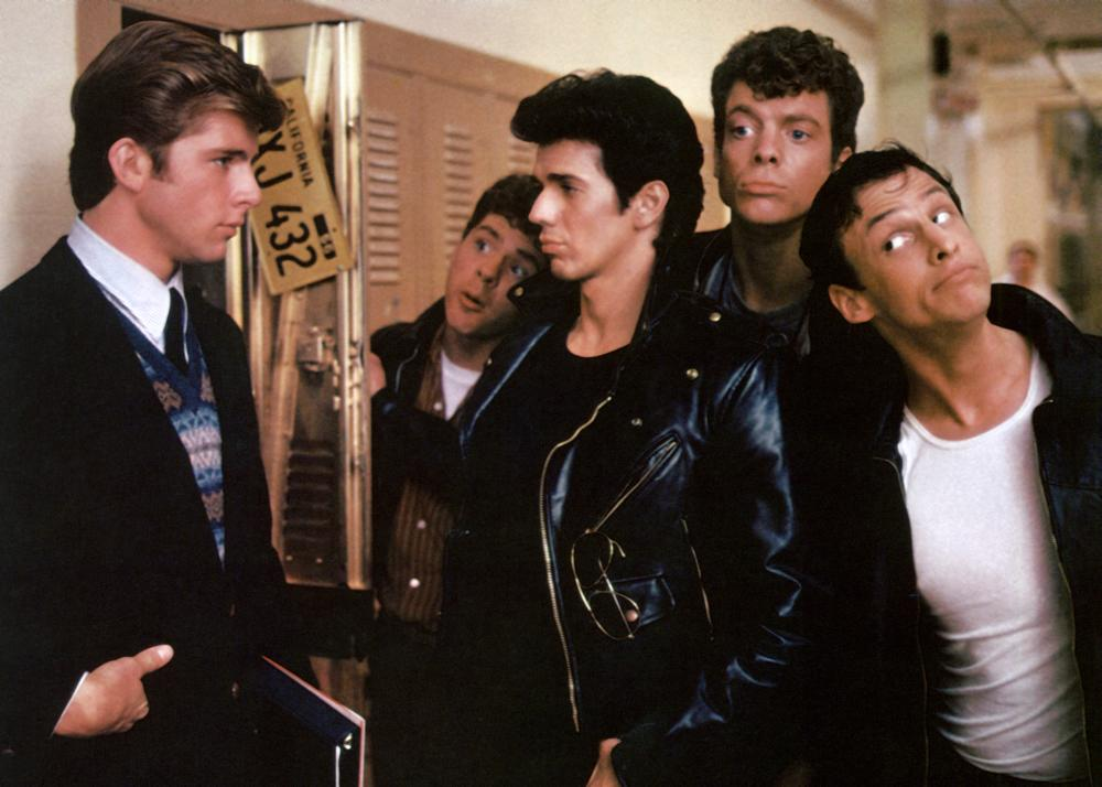 GREASE 2, Maxwell Caulfield, Leif Green, Adrian Zmed, Christopher McDonald, Peter Frechette, 1982, (c)Paramount