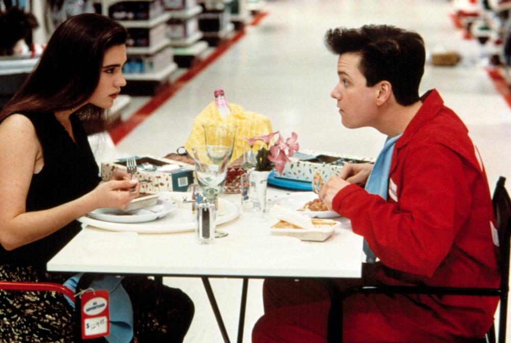 CAREER OPPORTUNITIES, Jennifer Connelly, Frank Whaley, 1991. ©Warner Bros.