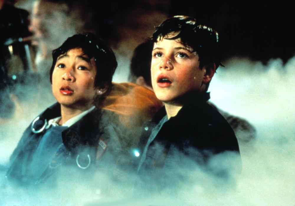 THE GOONIES, Jonathan Ke Quan, Sean Astin, 1985