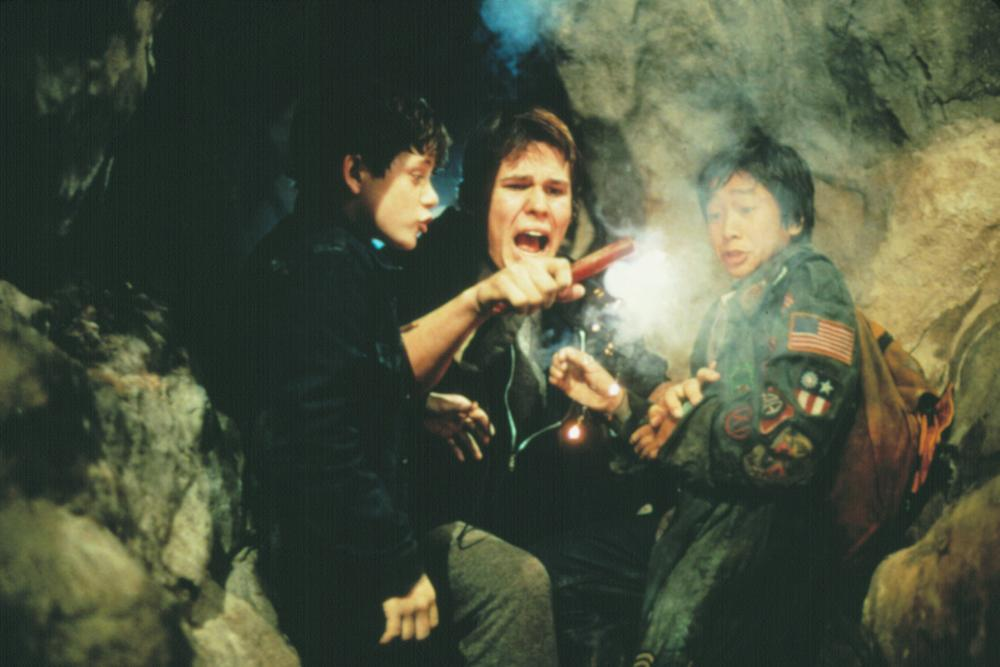 THE GOONIES, Martha Plimpton, Josh Brolin, Jonathan Ke Quan, 1985