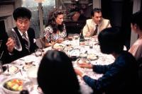 GUNG HO, Sab Shimono, Mimi Rogers, Michael Keaton, 1986. (c) Paramount Pictures.