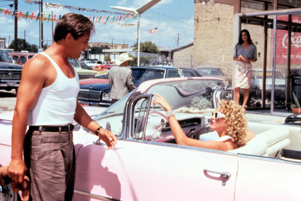 THE HOT SPOT, Don Johnson, Virginia Madsen, Jennifer Connelly, 1990