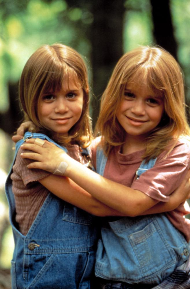IT TAKES TWO, Mary-Kate Olsen, Ashley Olsen (Olsen twins), 1995.
