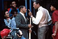 LEAN ON ME, Tyrone Jackson, Michael Beach, Morgan Freeman, Beverly Todd, etc, 1989.