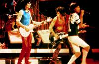 LET'S SPEND THE NIGHT TOGETHER, The Rolling Stones, Charlie Watts (drums), Ron Wood, Keith Richards, Mick Jagger, 1983
