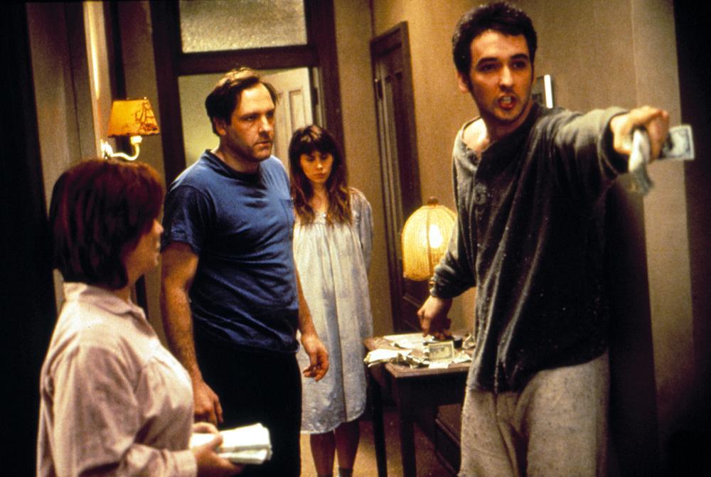 MONEY FOR NOTHING, Fionnula Flanagan, James Gandolfini, Elizabeth Bracco, John Cusack,1993