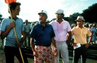 CADDYSHACK, Rodney Dangerfield, Chevy Chase, Brian Doyle-Murray, 1980. (c) Orion Pictures.