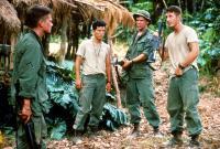 CASUALTIES OF WAR, Michael J. Fox, John Leguizamo, Don Harvey, Sean Penn, 1989, (c) Columbia