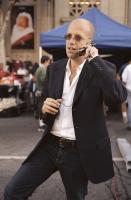 THE ITALIAN JOB, Producer Donald De Line on the set, 2003, (c) Paramount