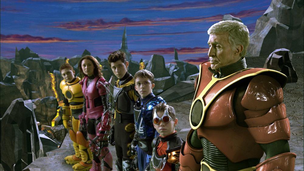 SPY KIDS 3-D: GAME OVER, Daryl Sabara, Alexa Vega, Robert Vito, Bobby Edner, Ryan Pinkston, Ricardo Montalban, 2003, (c) Dimension Films