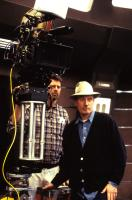 STAR TREK: NEMESIS, Stuart Baird, directing on the set, 2002.  Copyright  © 2002 by Paramount Pictures/.