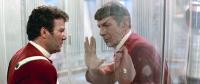 STAR TREK II: THE WRATH OF KHAN, William Shatner, Leonard Nimoy, 1982. Spock gives Kirk the Vulcan 'Live Long & Prosper' salute. ©Paramount..
