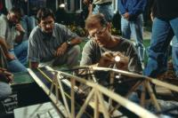 WHAT LIES BENEATH, Robert Zemeckis, 2000, planning a scene.