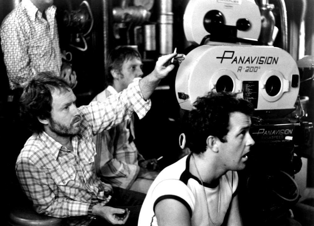 ALIEN, director Ridley Scott on the set, 1979, TM and Copyright (c)20th Century Fox Film Corp. All rights reserved.