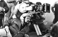 CONAN THE BARBARIAN, director John Milius on set, 1982, (c)Universal Pictures