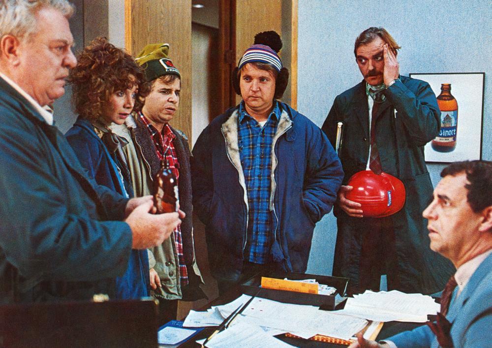STRANGE BREW, Angus MacInnes, Lynne Griggin, Rick Moranis, Dave Thomas, Douglas Campbell, Paul Dooley, 1983.