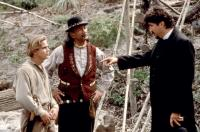 WHITE FANG 2: MYTH OF THE WHITE WOLF, Scott Bairstow (left), Alfred Molina (r.), 1994, (c)Buena Vista Pictures