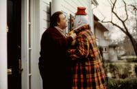 UNCLE BUCK, John Candy, Mike Starr, 1989, (c)Universal