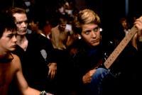 TUFF TURF, Robert Downey Jr. (l.), Jim Carroll,  James Spader (r.), 1985, (c)New World Pictures