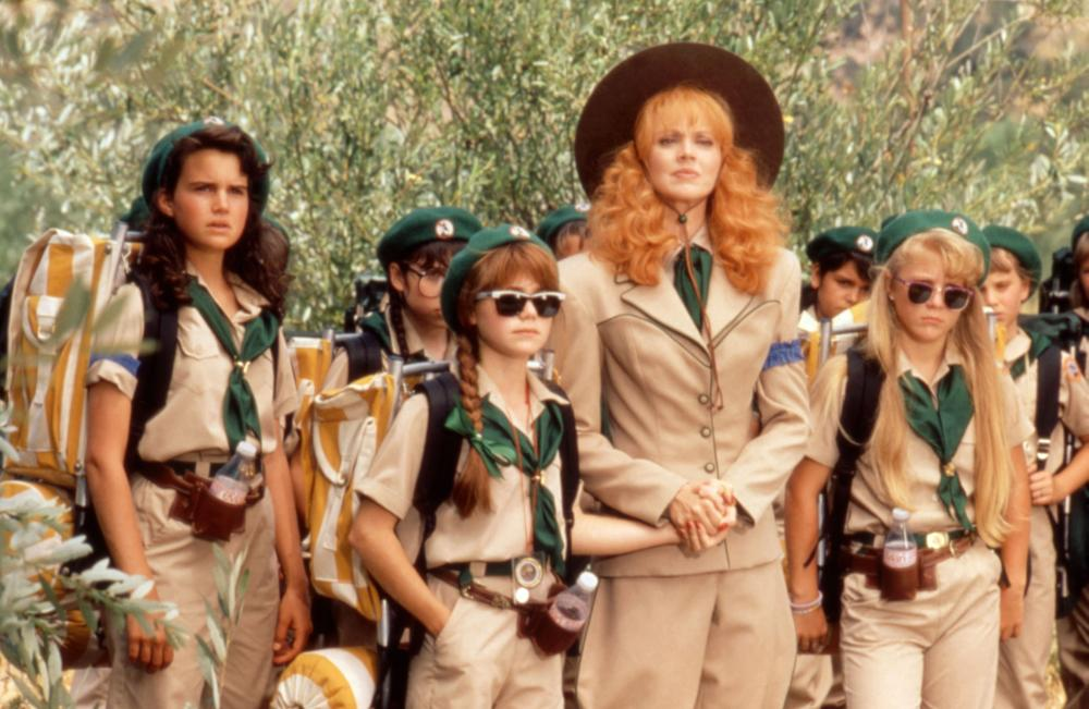 TROOP BEVERLY HILLS, Carla Gugino, Jenny Lewis, Shelley Long, 1989, (c)Columbia Pictures