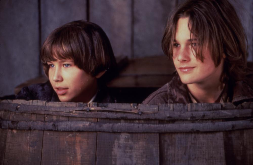 TOM AND HUCK, Jonathan Taylor Thomas, Brad Renfro, 1995, (c)Buena Vista Pictures