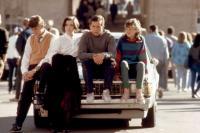 THREE O'CLOCK HIGH, Jonathan Wise, Annie Ryan, Casey Siemaszko, Stacey Glick, 1987, (c)Universal