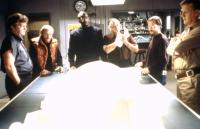 THE THING, Charles Hallahan, Peter Maloney, T.K. Carter, Richard Dysart, Joel Polis, Donald Moffat, 1982, (c) Universal