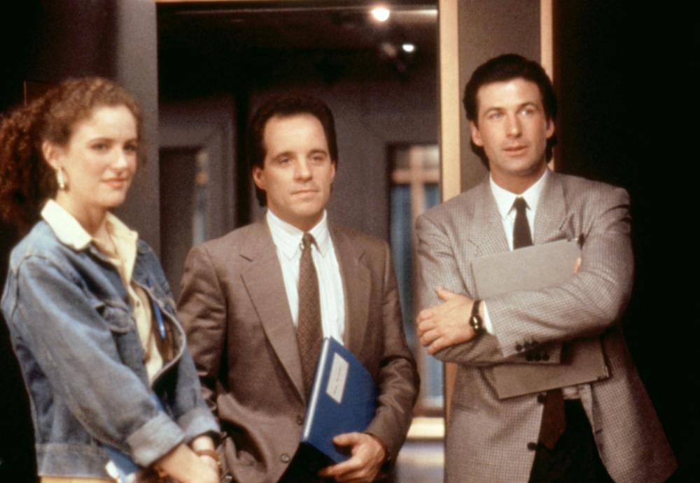 TALK RADIO, Leslie Hope, John Pankow, Eric Bogosian,  1988 © Unversal Pictures/