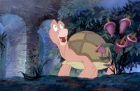 THE SWAN PRINCESS, Steven Wright as Speed the turtle, 1994. ©New Line Cinema